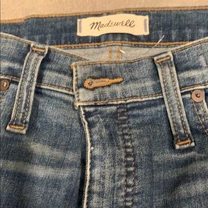 Madewell Jeans, fitted ankle